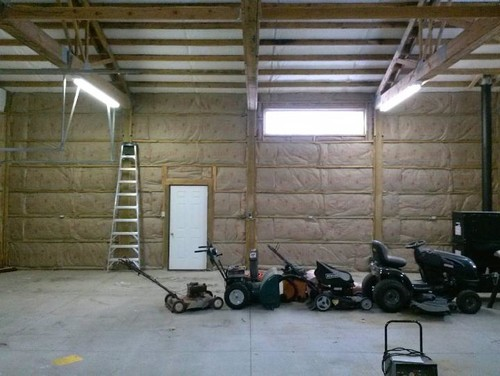 Batt Insulation For Exposed Wood Ceiling Rafters