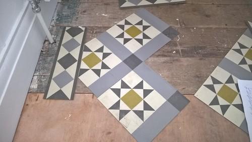 Tradtional Victorian Patterns Using Linoleum