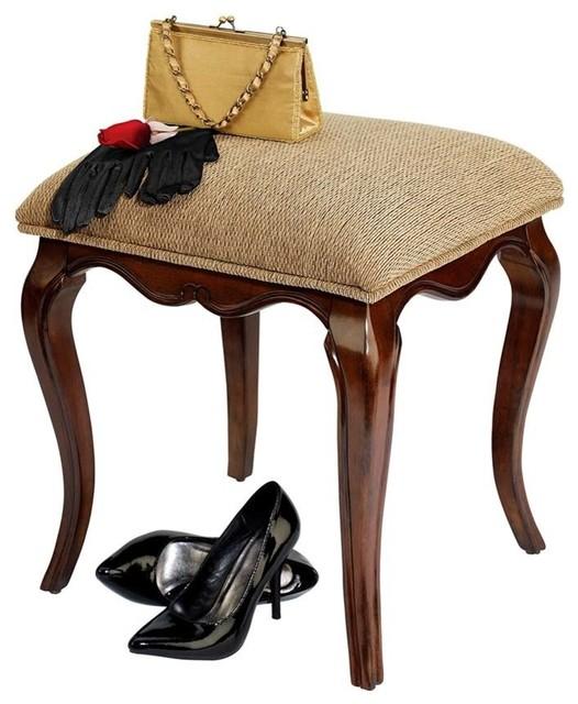 Lady Guinevere Vanity Stool.