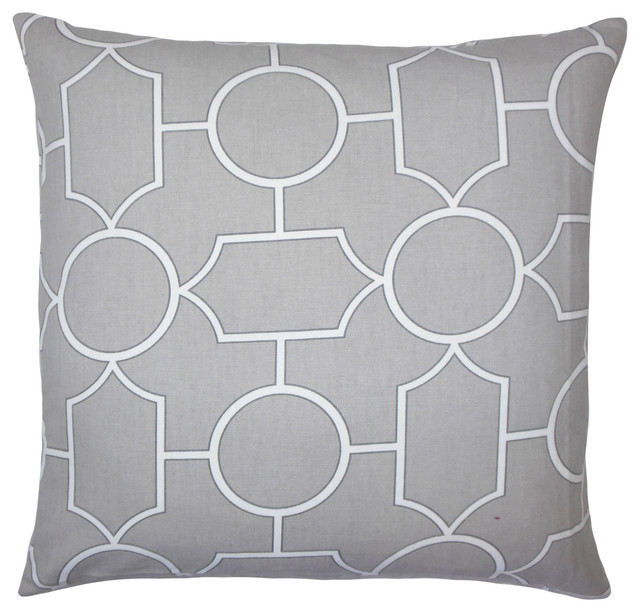 Stupendous Samoset Geometric Floor Pillow Dove Gmtry Best Dining Table And Chair Ideas Images Gmtryco