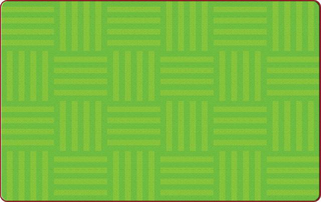 Hashtag Tone-On-Tone Lime Rug, 10'9x13'2