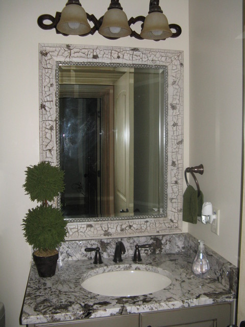mirror framing kits for bathrooms mirror frame kit traditional bathroom mirrors salt 23769