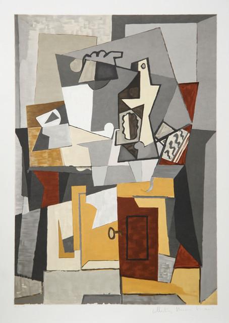 Pablo Picasso, Nature Morte a la porte et a la clef, 5-C, Lithograph ...