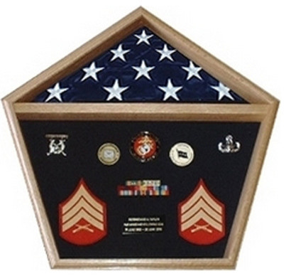 pentagon military shadow box pentagon flag display case traditional picture frames