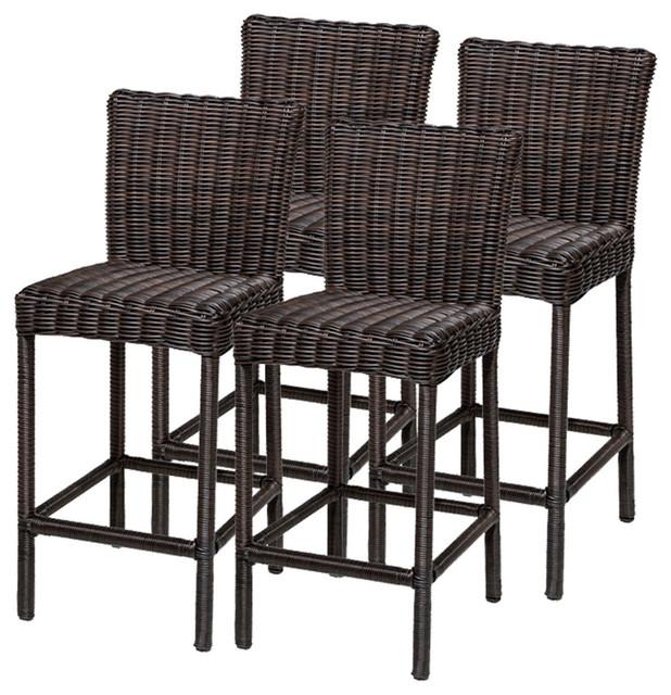 4 Rustico Barstools w Back Tropical Outdoor Bar  : tropical outdoor bar stools and counter stools from www.houzz.com size 618 x 640 jpeg 123kB