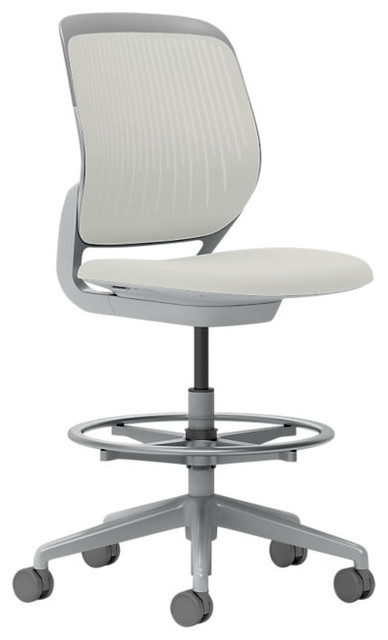 Steelcase Cobi Stool Platinum Frame Office Chairs By