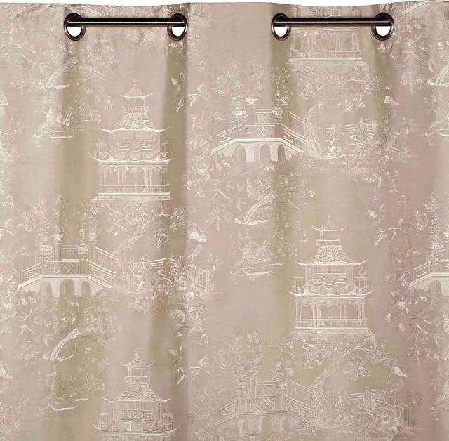 Eyelet Curtain Shangai, Off-White, 53.1x110.2.