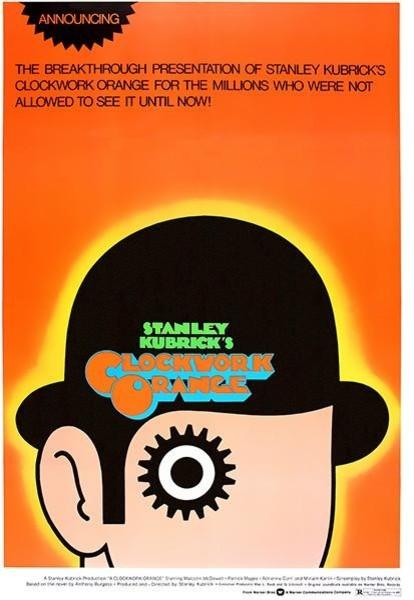 A Clockwork Orange 1971 Movie Poster 8 5 X11
