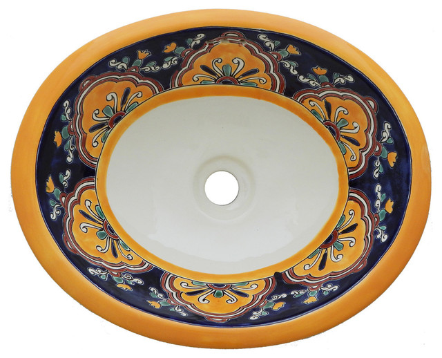 Mexican Talavera Sink Hand Painted