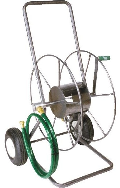 yard butler hose reel yard butler 2 wheel portable hose reel farmhouse 1682