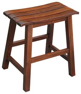 Slat Seat Stool Craftsman Bar Stools And Counter