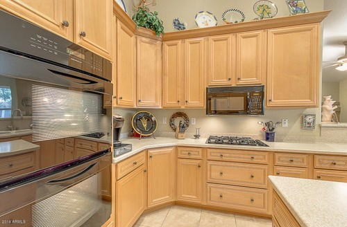 What type of wood cabinets are these beech or maple for Beech wood kitchen cabinets