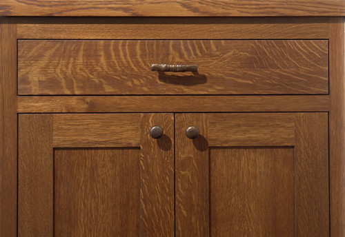 I Need Photos Of Your Stained Rift Sawn White Oak Cabinets Please on Quarter Sawn Oak Dresser