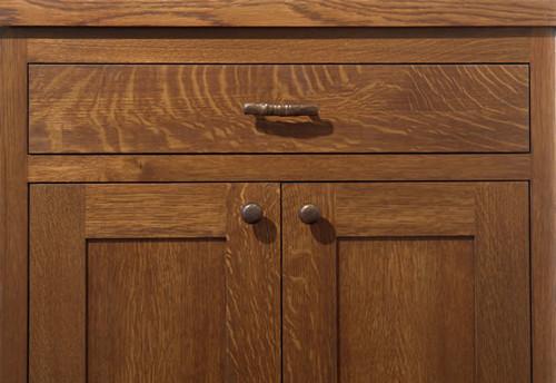 Rift Oak Kitchen Cabinets Gray