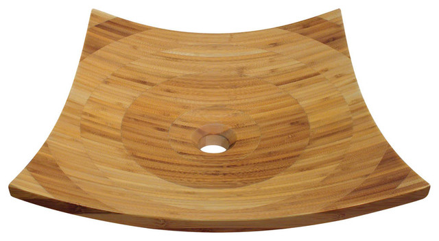Bamboo Vessel Sink,no Additional Accessories,no Additional Accessories.