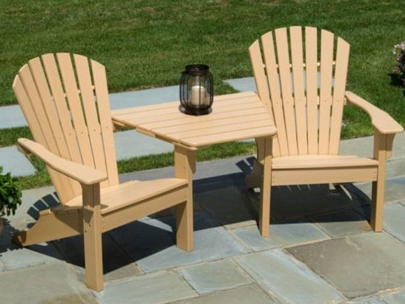Captivating Seaside Casual Adirondack Tete A Tete Patio Furniture And Outdoor