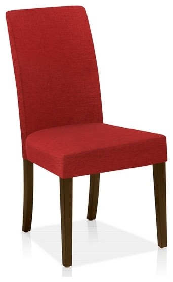 Modern Side Chair In Fabric Brick Contemporary Dining Chairs By ARTeFAC