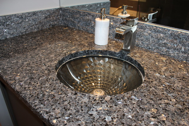 Blue Pearl Granite Vanity S Amp Granite Tile Backsplash