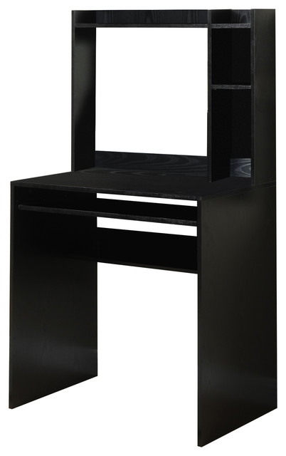 Student Desk With Magnetic Bulletin Board, Black.