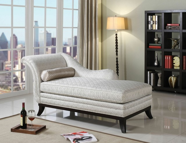 Kimbra collection beige modern classic patterned fabric upholstered and dark che