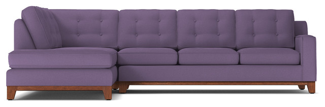 Astounding Brentwood 2 Piece Sectional Sofa Lavender Velvet Chaise On Left Camellatalisay Diy Chair Ideas Camellatalisaycom