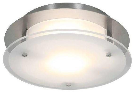 Access Lighting 50036-Bs, Fst Visionround Modern Flush Mount.