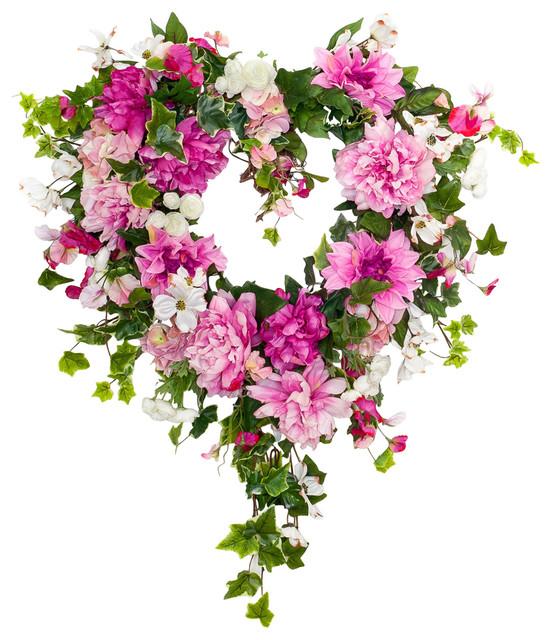 Tender Hearts Wreath.