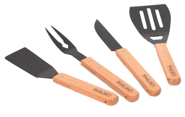 4-Pieces Bbq Set.
