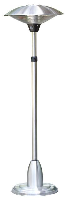 Telescopic Electric Patio Heater With Adjustable Head Modern Patio Heaters