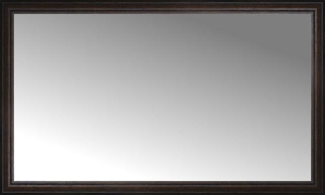 60 X36 Custom Framed Mirror Traditional Floor Mirrors By
