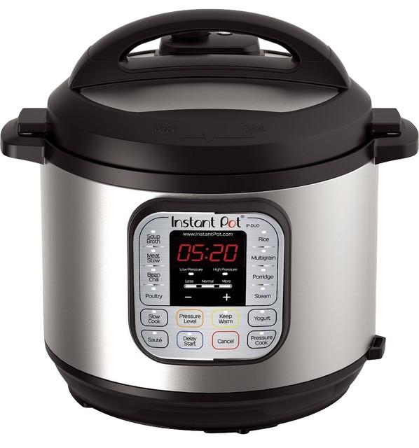 Instant Pot 6 Qt 7-In-1 Multi-Use Programmable Pressure Cooker.