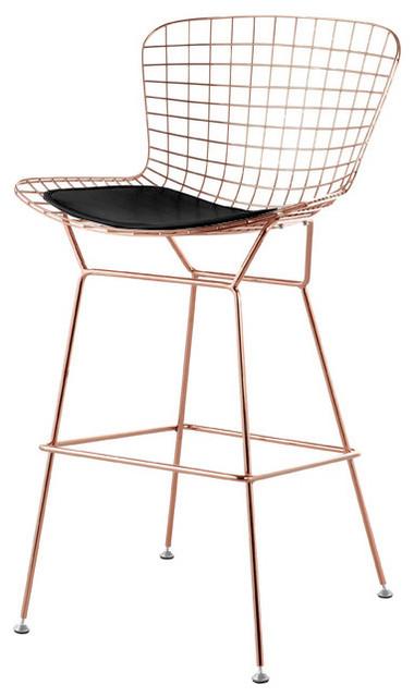 Shop Houzz Advanced Interior Designs Wireback Bar Stool  : scandinavian bar stools and counter stools from www.houzz.com size 380 x 640 jpeg 48kB