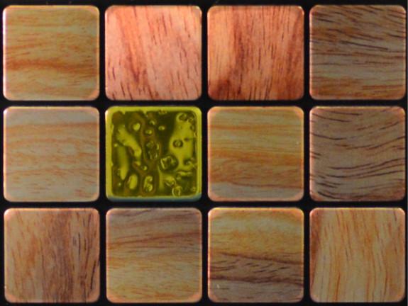 peel and stick backsplash tile woodie sample contemporary