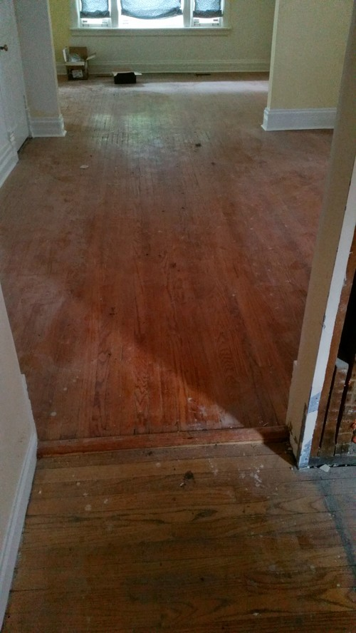 Help With Transition Between New And Old Hardwood Floors