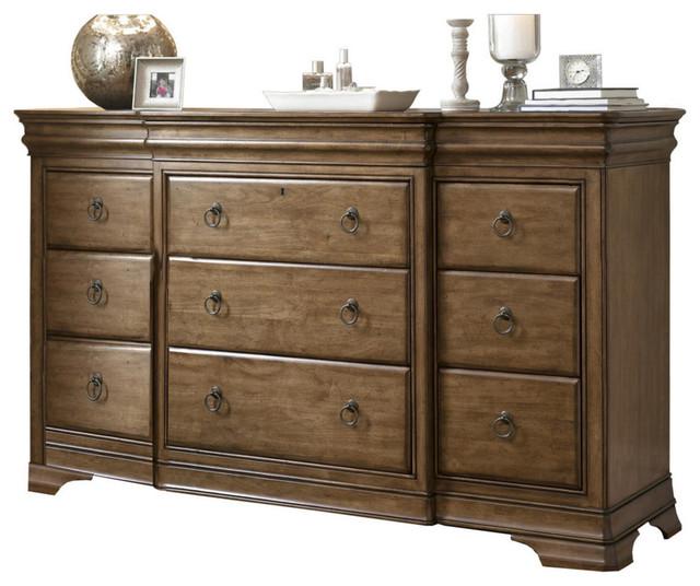 Pennsylvania House Solid Wood 12 Drawer Triple Dresser