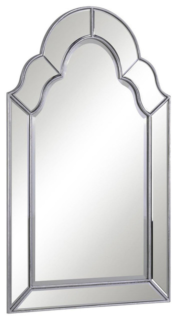 Antique-Style Arch Mirror.