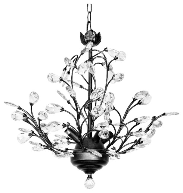 Julia 4 Light Crystal Chandelier Modern And Contemporary