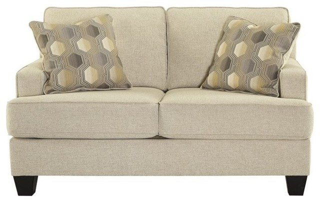 Ashley Brielyn Loveseat, Linen.