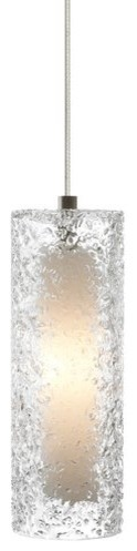 Lbl Lighting Mini Rock Candy C Clear 50w Monopoint 1 Light Mini Pendant.