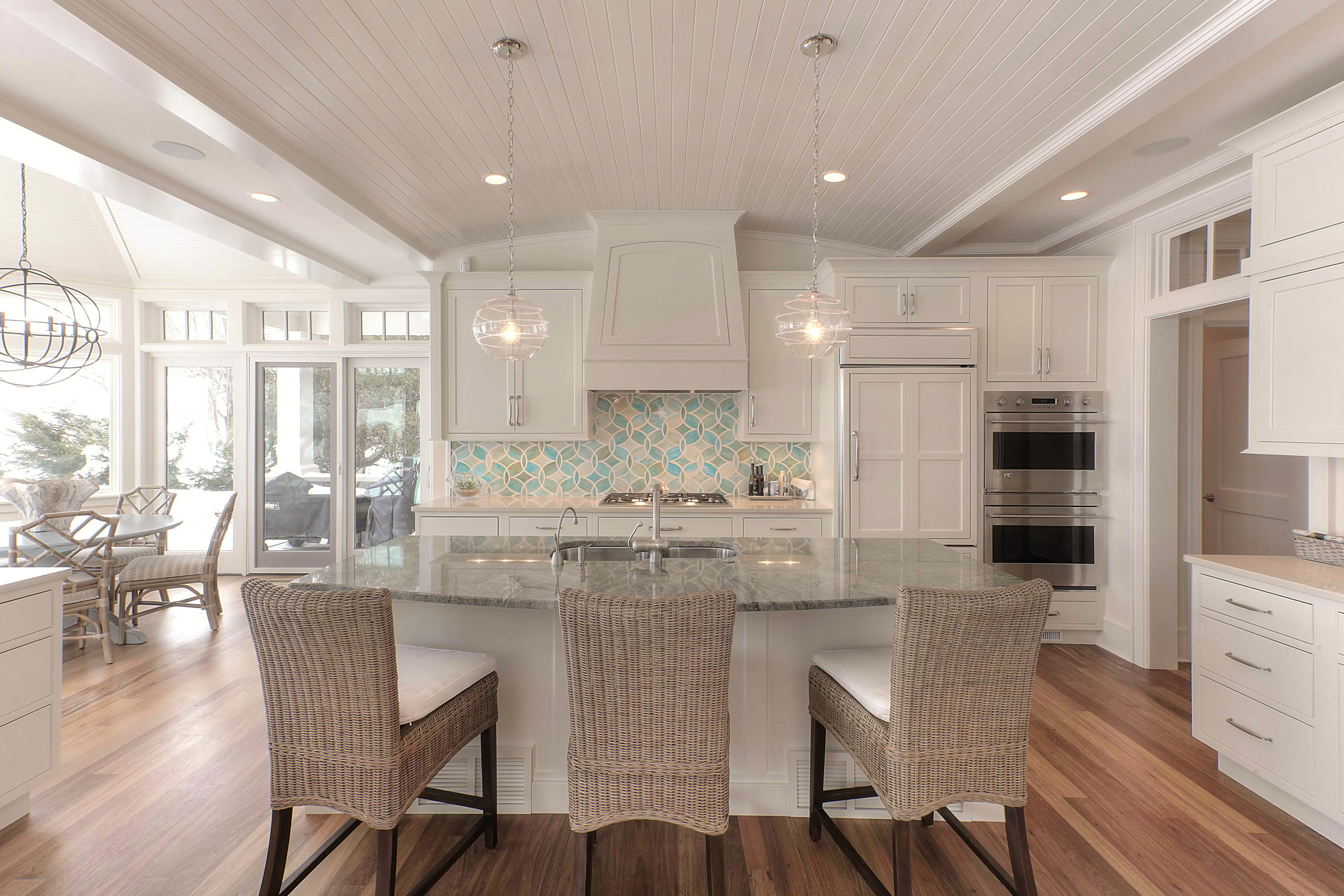 Traditional Eclectic Waterfront