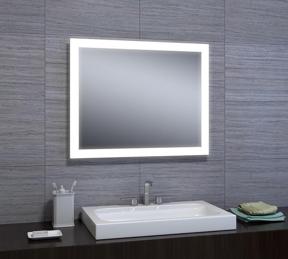 Angelina Led Mirror Modern Bathroom Mirrors By Castello Usa
