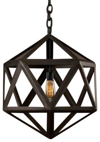 New Wooden Lantern Pendant Lamp Fixture Vintage Iron Art Ceiling Chandelier Old