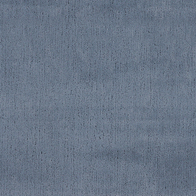 Blue Textured Microfiber Upholstery Fabric By The Yard