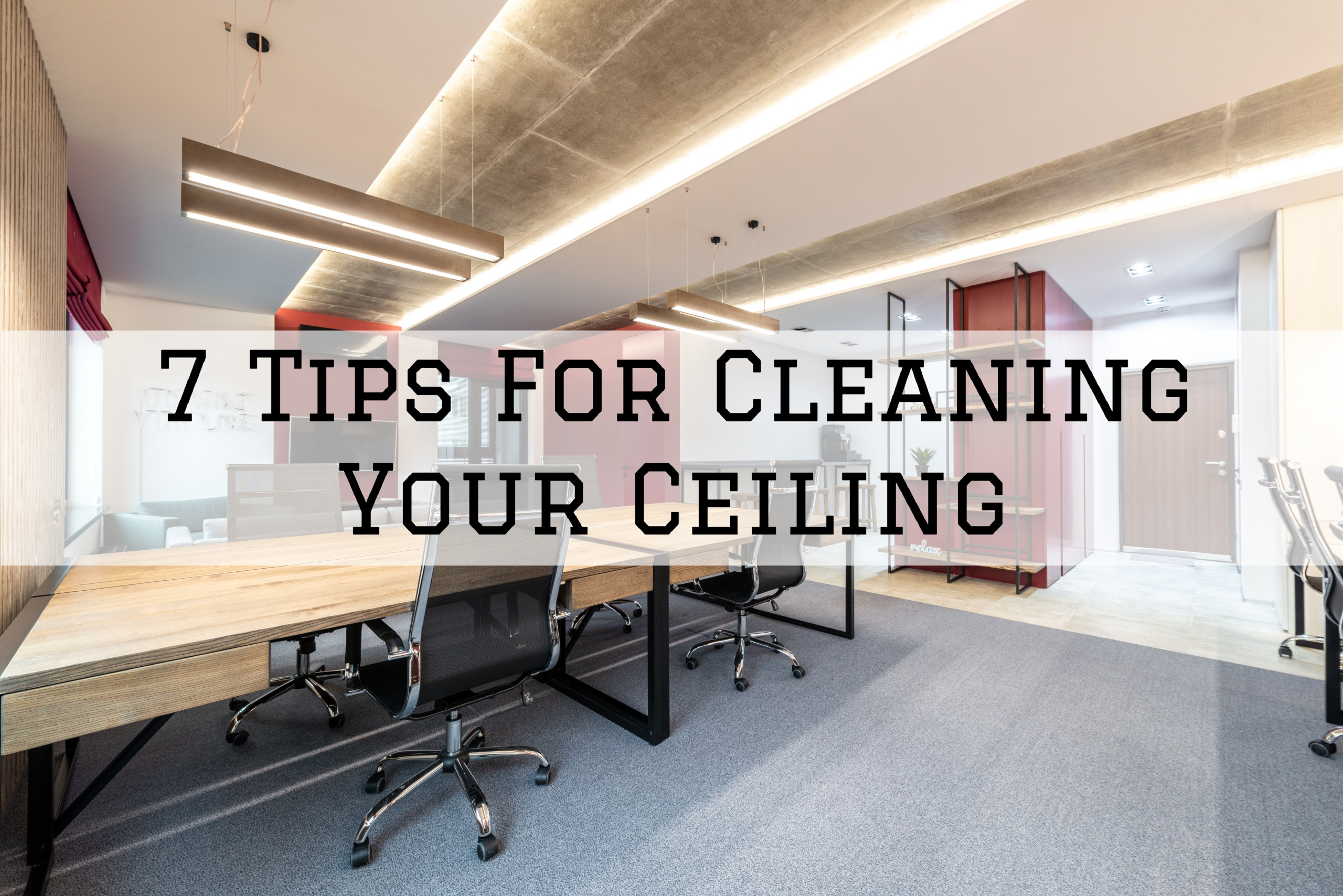 07-06-2021 Steves Quality Painting And Washing Green Lake WI tips for cleaning your ceiling