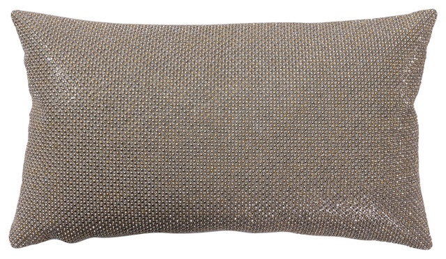 5008b5fd899 Antique Gold Shine Pillow - Contemporary - Decorative Pillows - by Casa  Selvagem
