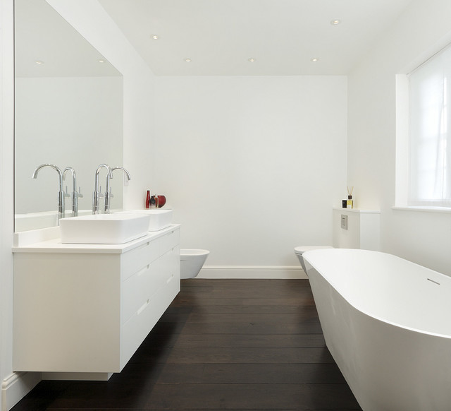 Interiors contemporary bathrooms contemporary bathroom london by cue co of london Bathroom design jobs london
