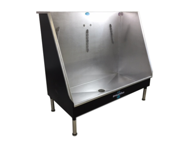 Walk In Dog Wash Stainless Steel Wash Contemporary