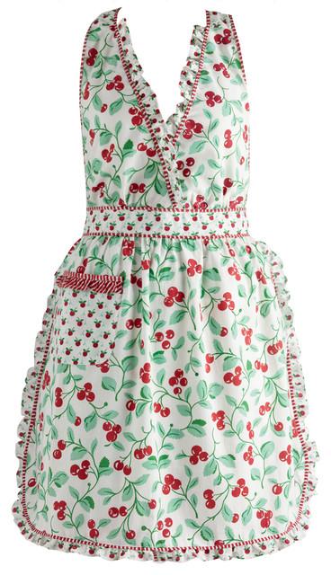 Cheri Cherry Vintage Apron