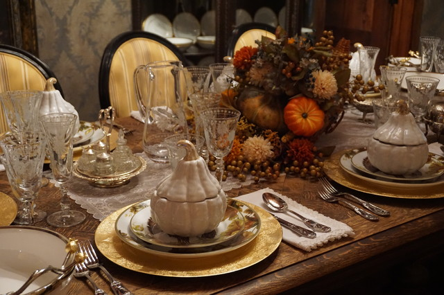 Formal Dining Room At Thanksgiving Other By Martin Interior Designs