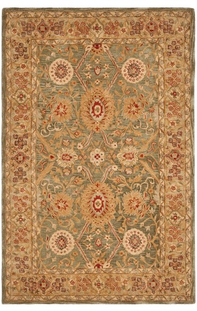Anatolia An516 Area Rug Traditional Area Rugs By